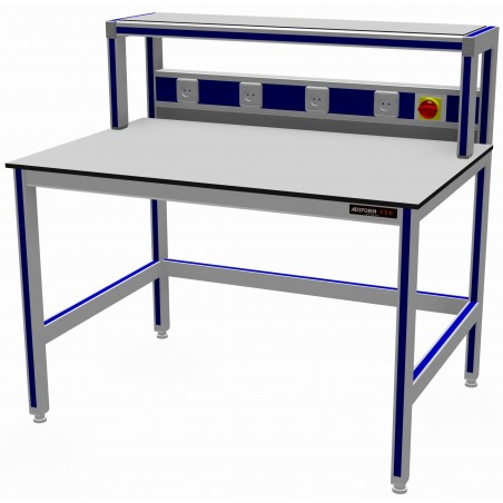 CED Working Table with Build-up