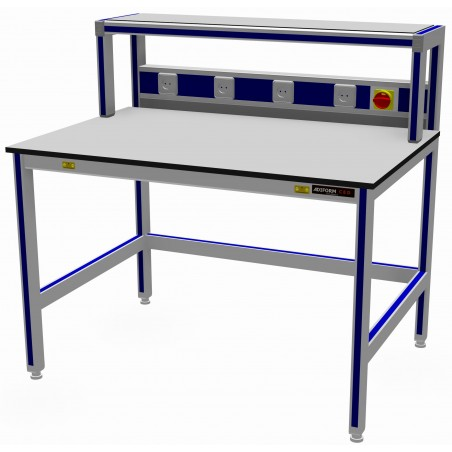 CED ESD Work Table with Build-up